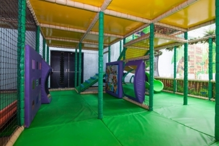 interactive soft play area - mirrors and puzzles